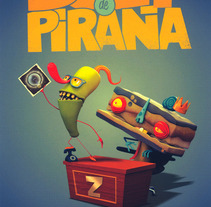 BUEY DE PIRAÑA. A Design, Motion Graphics, Illustration, Film, Video, TV, and 3D project by Felipe Zavala Muñoz - 05.10.2012