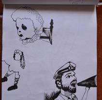 estudios y movidas. A Illustration project by ximo cerdá peréz         - 13.06.2012