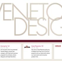 Veneto Design: Catálogo Online. Um projeto de Design e Desenvolvimento de software de Sergio Noriega Sáez         - 21.06.2012