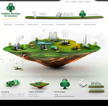 CML Medio Ambiente. A Design, Illustration, and UI / UX project by Rolan Gonzalez - 15-06-2012