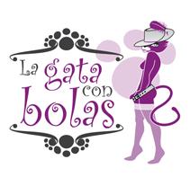 La gata con bolas. Un proyecto de Diseño e Ilustración de Jose Martínez Calderón - 25-06-2012