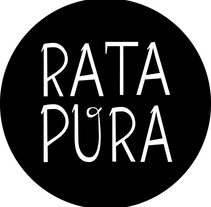 logo rata pura fanzine. A Design&Illustration project by Virginia Peláez         - 07.07.2012