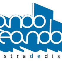 Propuesta Logotipo AndoCreando. Um projeto de Design de Cástor González Bayón         - 11.07.2012