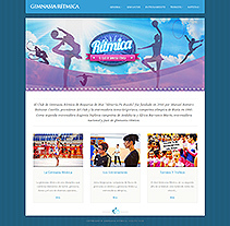 Gimnasia Rítmica. Sitio Web . A Design, Software Development&IT project by Alexander  - 19-07-2012