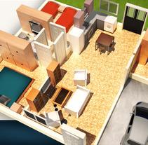 3d casas planos. Un proyecto de 3D de Juan Monzón - 23-07-2012