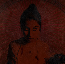 HACHAS SANGRIENTAS - CD | miembros cercenados. A Design, Illustration, Advertising, Music, Audio, and Photograph project by alejandro escrich         - 25.07.2012