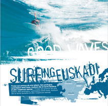 Surfing Euskadi. A Design, Illustration, and Advertising project by Alba  Dizy - 15-08-2012