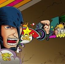 Posters e ilustraciones wellintencion. Um projeto de Design e Ilustração de Aaron Arana         - 15.08.2012