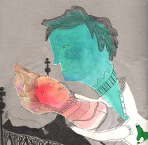 Romeo and Juliet. A Illustration project by Laia Jou         - 17.08.2012
