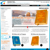 Pagina web EDICEL. A Design project by llucius         - 22.08.2012