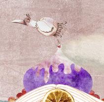 La verdadera historia de Hansel y Gretel. A Illustration project by María josé García         - 07.09.2012