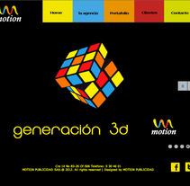 Diseño web. Um projeto de Design e Ilustração de Johanna  Beltrán          - 12.09.2012