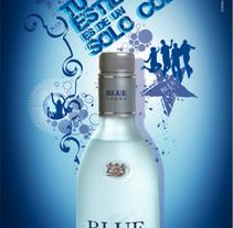Campaña de promoción Vodka Blue. A Design, and Advertising project by Jessica Alexandra Bustamante Fonseca         - 11.10.2012