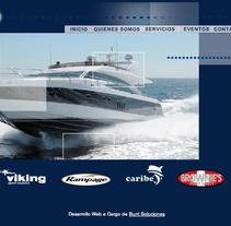 Diseño Web Artemisa Yatchs. A Design project by Jessica Alexandra Bustamante Fonseca         - 11.10.2012