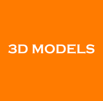 3D Models. A 3D project by Mariana Diéguez Martínez         - 15.10.2012