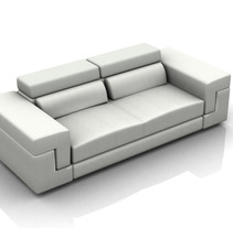 Sofa Tiziano. A Design, and 3D project by Maceda Design - 15-10-2012