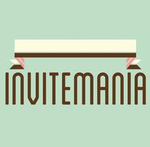 Logotip Invitemania. A Design project by Chakrani         - 17.10.2012