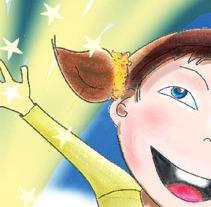 il·lustració interior contes infantils. Un proyecto de Ilustración de M. Jesús  Royo Reverte - 31-10-2012