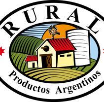 RURAL (Marca blanca • Productos Lácteos y Cárnicos . A Design project by Gabriel Podestá Conte         - 18.11.2012