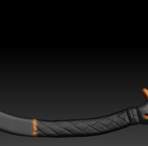 Petzl Ice Axe. A Design, Illustration, and 3D project by Vicente Sánchez - 11.22.2012