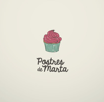 Postres de Marta. A Design, Illustration, Advertising, and Photograph project by Reyes Martínez         - 05.12.2012