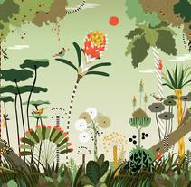 The Wallery. Un proyecto de Instalaciones e Ilustración de Caroline Selmes - Jueves, 20 de diciembre de 2012 15:10:02 +0100