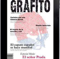 GRAFITO MAGAZINE. A Design, Illustration, Advertising, Photograph, and UI / UX project by Carolina Rojas Vilos         - 23.12.2012