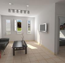 Interior vivienda galapagar. Um projeto de 3D de israel colino - 28-12-2012