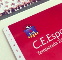 Rebranding C.E.Esporles+Carnets de Socio. Un proyecto de Diseño de Oscar Amengual Busquets - 04-01-2013