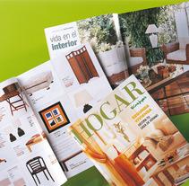 Revista Hogar la día. A  project by Eva San José         - 09.01.2013