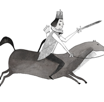 Cuentos populares rumanos(Editorial Illustration). A Illustration project by Paloma Corral - Jul 27 2014 12:00 AM