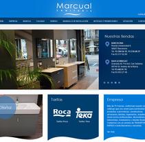 Sanitaris Marcual. Un proyecto de Diseño y Desarrollo de software de La Teva Web Diseño Web  - Martes, 05 de febrero de 2013 12:50:54 +0100