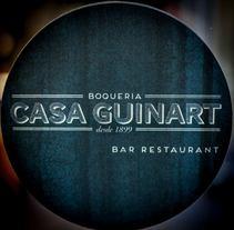 Casa Guinart La Boqueria - Identidad Corporativa. A Design project by Andreu Rami Bastante         - 09.02.2013