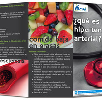 Folleto Hipertensión Arterial. Um projeto de Design e Publicidade de Alana García Ortega         - 11.02.2013