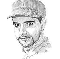 Retratos línea. Un proyecto de Ilustración de Ruth Domínguez         - 18.02.2013