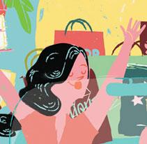 Revista Woman. Un proyecto de Ilustración de Marisa Morea         - 06.03.2013