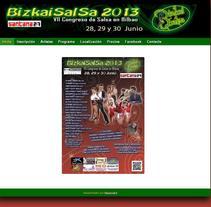 Bizkaisalsa. Um projeto de Design, Desenvolvimento de software, UI / UX e Informática de Vicen Martínez         - 20.03.2013