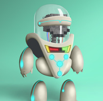 Robot. A Illustration project by Jose Carlos Rivero Rguez         - 22.03.2013