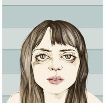 doble cara del Cine Español. A Illustration project by Cecilia Sánchez         - 26.03.2013