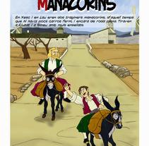 Cómic: Dos traginers manacorins. Un proyecto de Ilustración de Miguel Ozonas Gregori - 16-04-2013