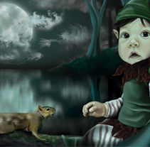 Duende. A Illustration project by Lucía Pinkguino - 20-04-2013