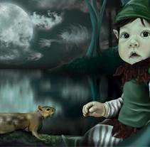 Duende. Um projeto de Ilustração de Lucía Pinkguino - 20-04-2013