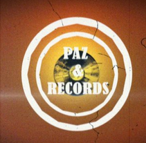 Intro Paz & Records. A Advertising, Motion Graphics, Film, Video, and TV project by xavi  - 24-04-2013