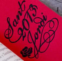 Sant Jordi 1. Un proyecto de Diseño e Ilustración de Elena Alexeeva - 24-04-2013