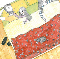 Domingo a la mañana. A Illustration project by Maru Vetere         - 06.05.2013