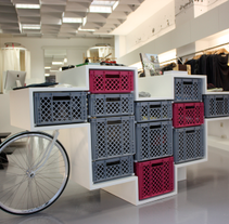 Glore Store (Stuttgart). A Installations, Design, and 3D project by Marcos Aretio (Markmus) - Jun 01 2013 12:19 PM