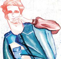 Colección Abrigos Hombre Fragmentos. Un proyecto de Diseño e Ilustración de irene cruz cano - Martes, 04 de junio de 2013 10:57:39 +0200