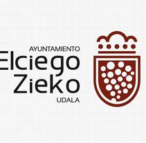 Logotipo del Ayuntamiento de Elciego. Un proyecto de Diseño de Edorta Ramírez - 05-06-2013