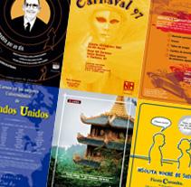 Carteles. A Design, and Advertising project by Juan Aguilar de Alvear         - 05.06.2013