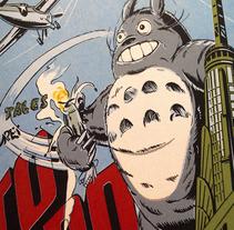 King Totoro. Un proyecto de Ilustración, Diseño de personajes y Comic de Ink Bad Company - 21-06-2013